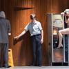 'Mother' Play performed by Peeping Tom Theatre Company at the Barbican Theatre, London, UK