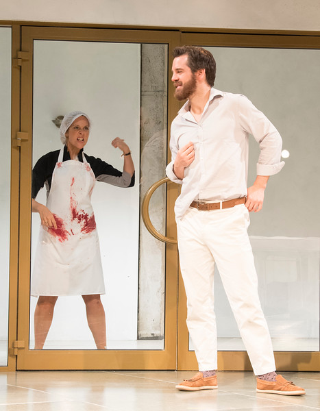 'Much Ado About Nothing' Play performed at the Rose Theatre, Kingston, UK