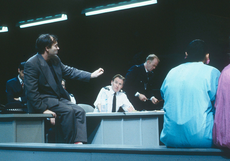 'Murmuring Judges' Play performed at the National Theatre, London, UK 1991