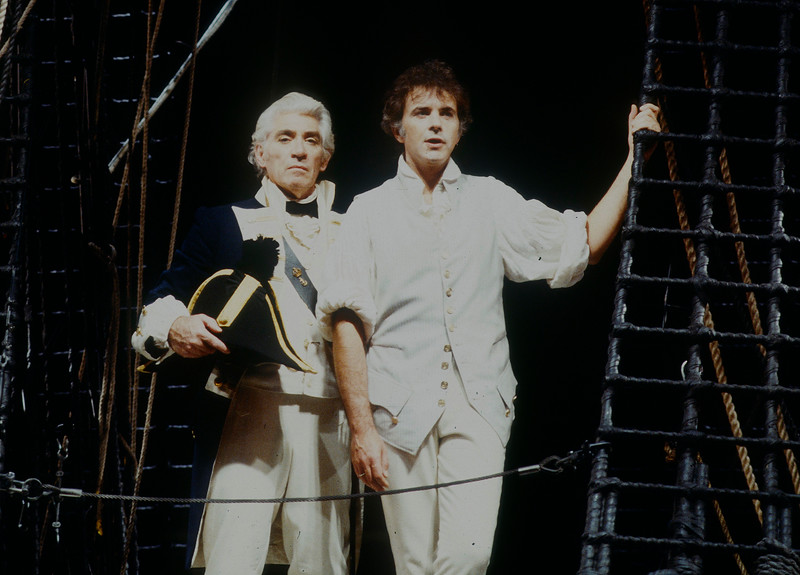 'Mutiny' Musical performed at the Piccadilly Theatre, London, UK 1985