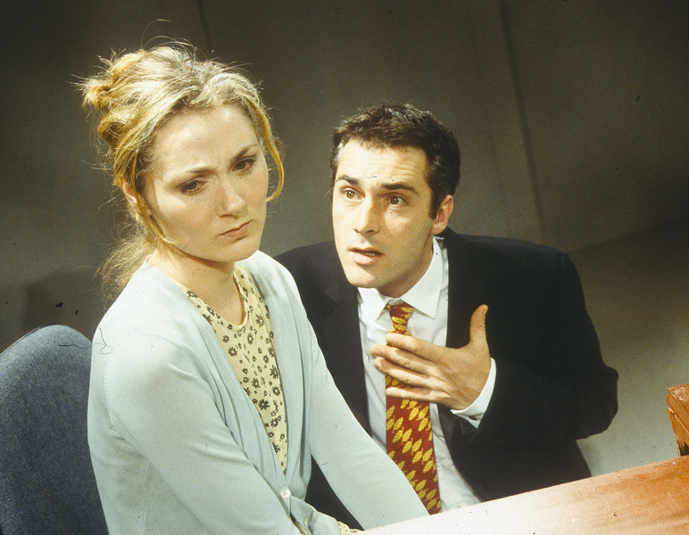 'Nabakov's Gloves' Play performed at Hampstead Theatre, London, UK 1998