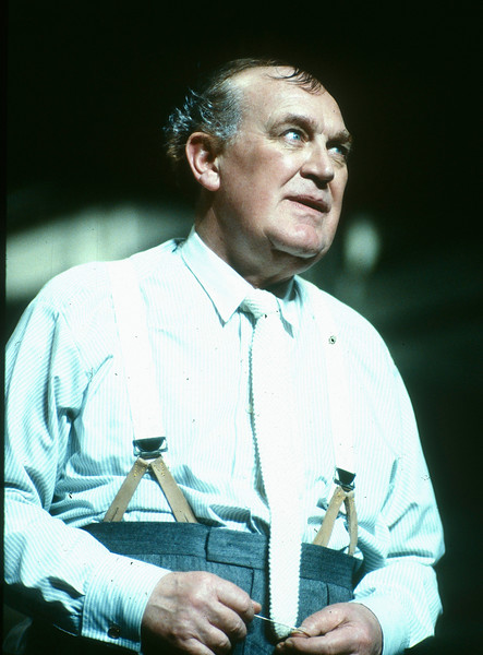 'Never the Sinner' Play performed at the Payhouse Theatre, London, UK 1990
