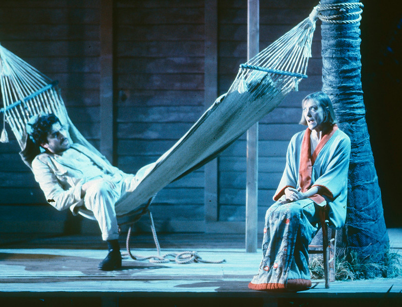'Night of the Iguana' Play performed in the Lyttelton Theatre, National Theatre, London, UK 1991