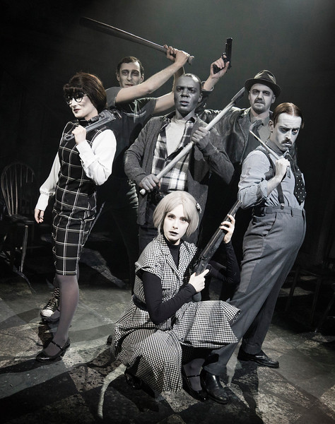 'Night of the Living Dead' Play performed at the Pleasance Theatre, London,UK