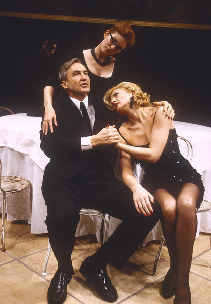 'Nine' Play performed at the Donmar Theatre, London, UK 1996