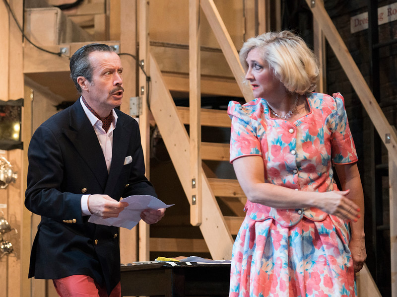 'Noises Off' Play performed at the Lyric Theatre, Hammersmith, UK