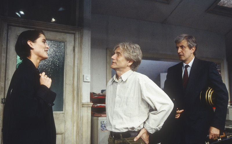 'Now You Know' Play performed at Hampstead Theatre, London, UK 1995