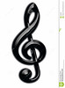 //www.dreamstime.com/royalty-free-stock-photography-treble-clef-image4553597