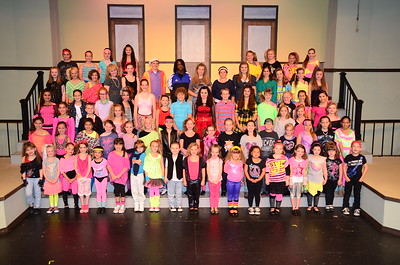 OLPD 2012 Fame Jr Red Team 2012 July 10 Cast picture