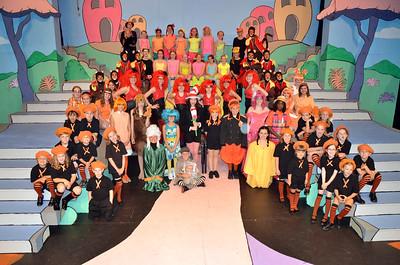 OLPD 2011 Broadway Jr Seussical Cast Picture Photos