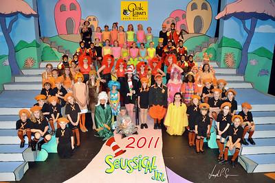OLPD 2011 Broadway Jr Seussical 2011-07-12 Cast Picture (1029) 20x30 C2
