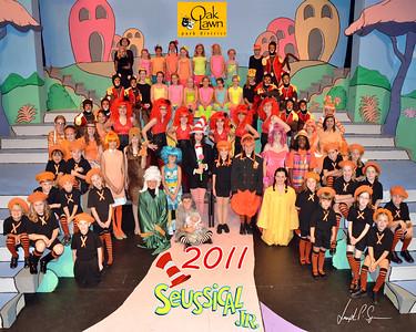 OLPD 2011 Broadway Jr Seussical 2011-07-12 Cast Picture (1029) 8x10 C1