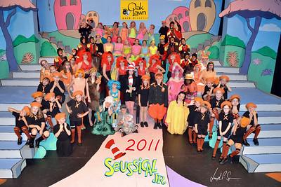 OLPD 2011 Broadway Jr Seussical 2011-07-12 Cast Picture (1045) Goofy 20x30 A