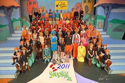 OLPD 2011 Broadway Jr Seussical 2011-07-13 Cast Picture (1037) 20x30 Brooke B Plus
