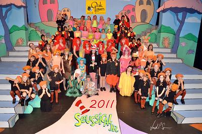 OLPD 2011 Broadway Jr Seussical 2011-07-12 Cast Picture (1045) Goofy 20x30