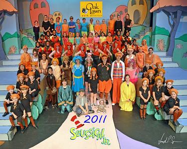 OLPD 2011 Broadway Jr Seussical 2011-07-13 Cast Picture (1037) 8x10 Brooke B Plus A