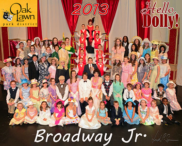 OLPD 2013 Bway Jr Dolly Red Cast shirt
