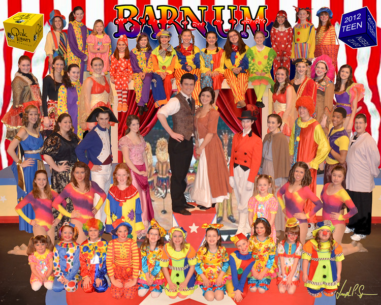 OLPD 2011 Barnum Teen Blue 2012 Feb 7 Cast Picture 8x10 16 3D
