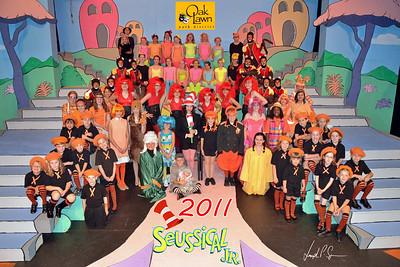 A OLPD 2011 Broadway Jr Seussical 2011-07-12 Cast Picture (1030) 20x30