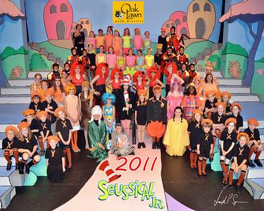 OLPD 2011 Broadway Jr Seussical 2011-07-12 Cast Picture (1029) 8x10 C2