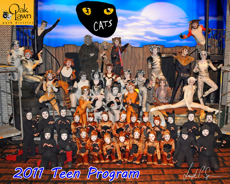 OLPD Blue Teen Cats Cast Picture 2011-02-12 (1025) 8x10 B