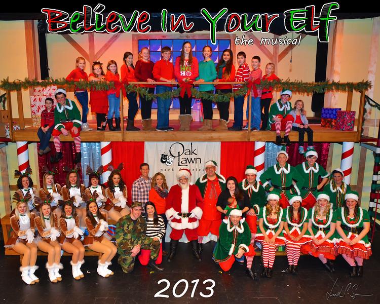 OLPD 2013 Believe in your Elf Cast Picture 12 Dec 10 (112)B