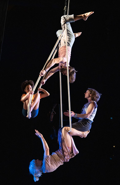 """""""This Time' Performance performed by Ockham's Razor Company at Shoreditch Town Hall, London, UK"""