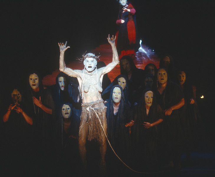 'The Oedipus Plays' Play performed in the Olivier Theatre, National Theatre, London, UK 1996
