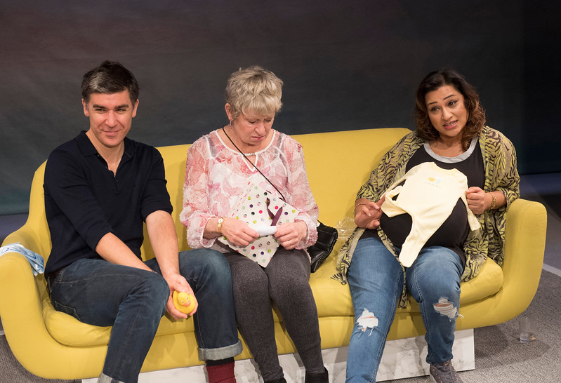 'Of Kith and Kin' Play performed at the Bush Theatre, London, UK