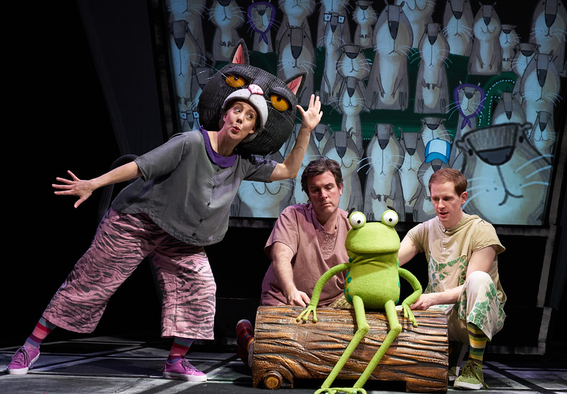 Oi Frogs and Friends Children's paly performed at the Lyric Theatre, London, UK
