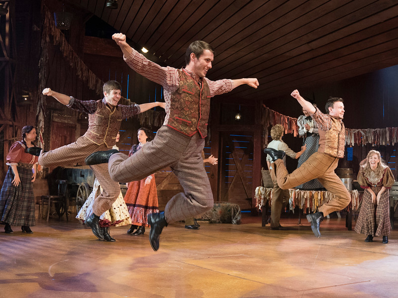 'Oklahoma!' Musical performed at the Chichester Festival Theatre, West Sussex, UK