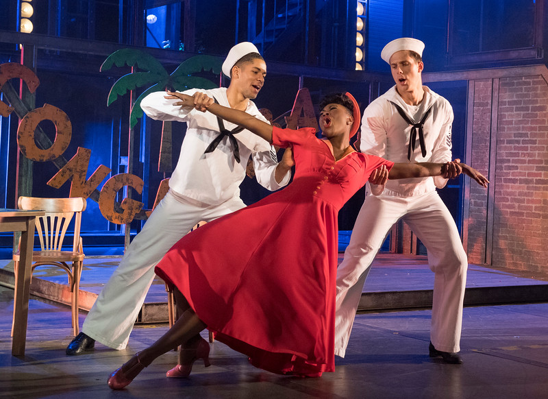 'On the Town' Musical performed at the Open Air Theatre, Regents Park, London, UK