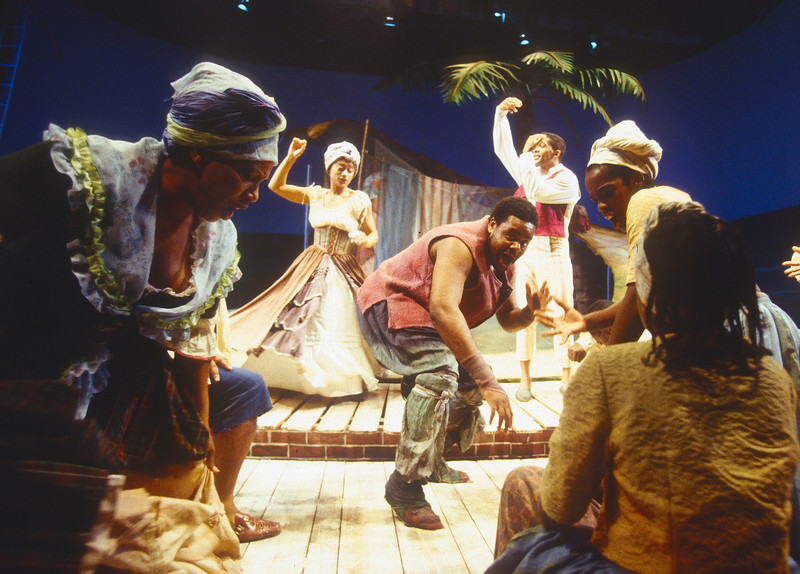 'Once on an Island' Play performed at Birmingham Repetory Theatre, UK 1994