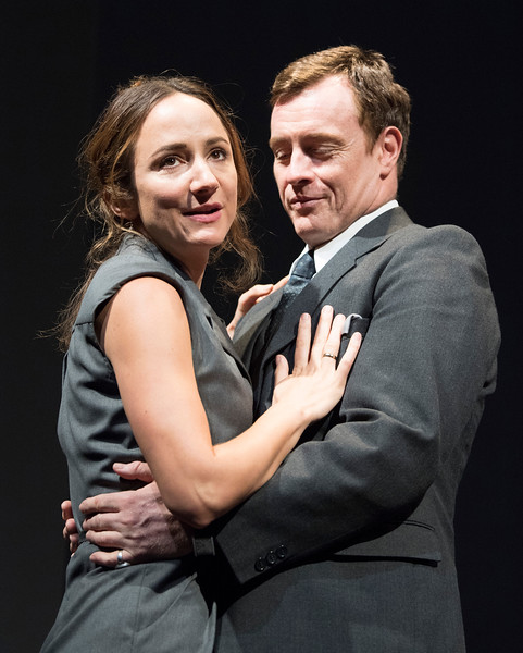 'Oslo' Play performed in the Lyttelton Theatre at the Royal Nayional Theatre, London, UK