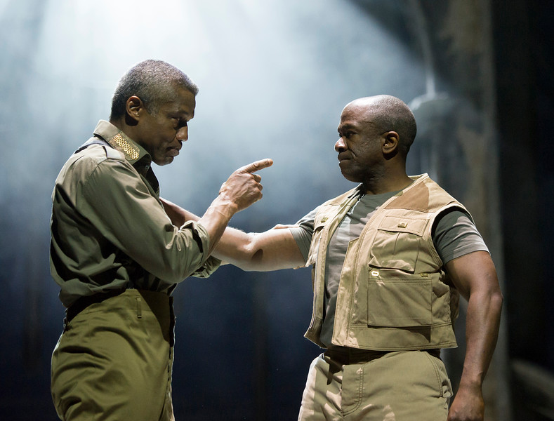 'Othello' Play performed by the Royal Shakespeare Company at Stratford-upon-Avon, UK