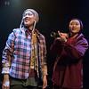 'Pah-La' Play by Abhishek Majumdar performed at the Royal Court Theatre Upstairs, London, UK