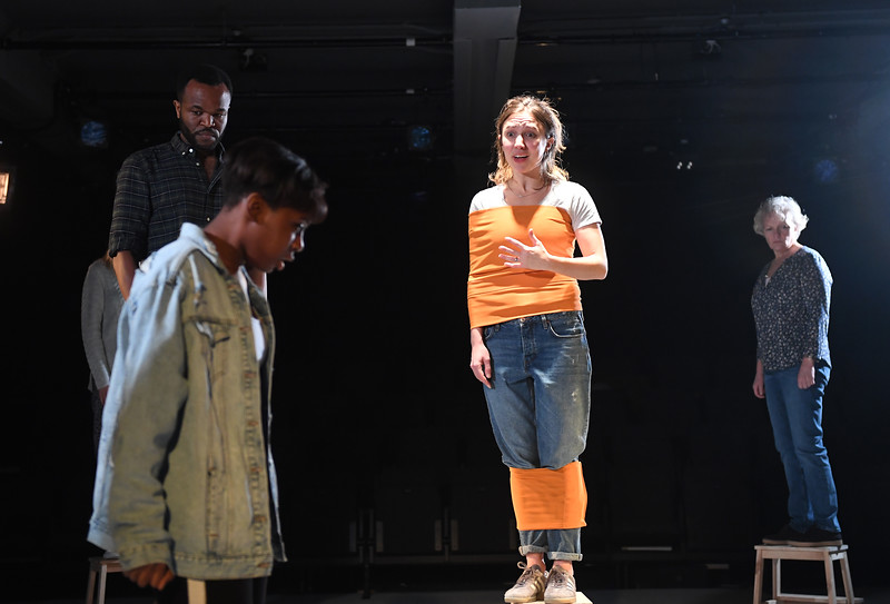 'Parliament Square' Play by James Fritz performed at the Bush Theatre, London, UK