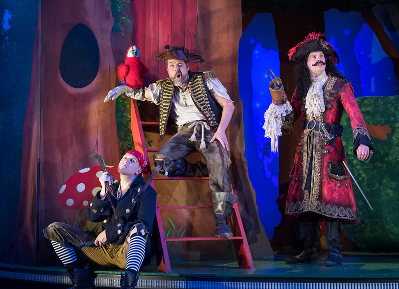 'Peter Pan Goes Wrong' Play performed at the Apollo Theatre, London, UK