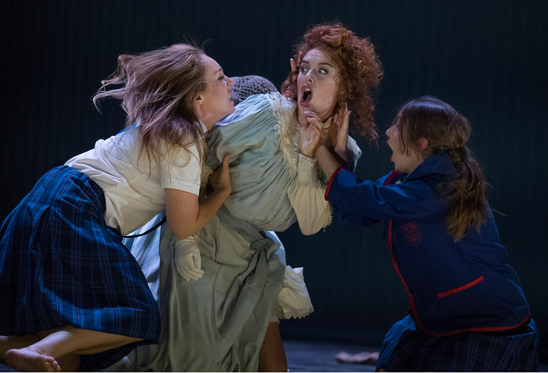 'Picnic at Hanging Rock' Play performed by Malthouse Theatre/Black Swan State Theatre Company at the Barbican Theatre, London, UK