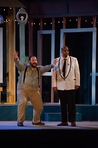 """Pittsfield Shakespeare in the Park's """"Much Ado About Nothing"""", 2019. Photo by Enrico Spada."""