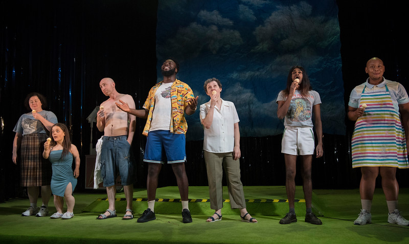 'Pity' Play written by Rory Mullarkey performed at the Royal Court Theatre London, UK