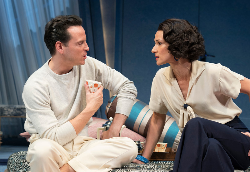 'Present Laughter' Play performed at the Old Vic Theatre, London,UK