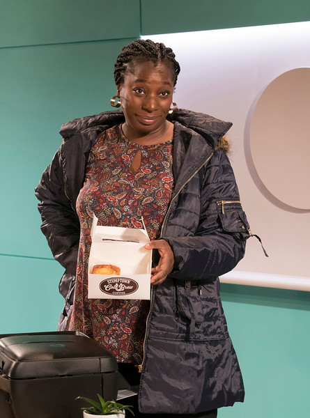 'Rasheeda Speaking' Play performed at the Trafalgar Studios, London, UK