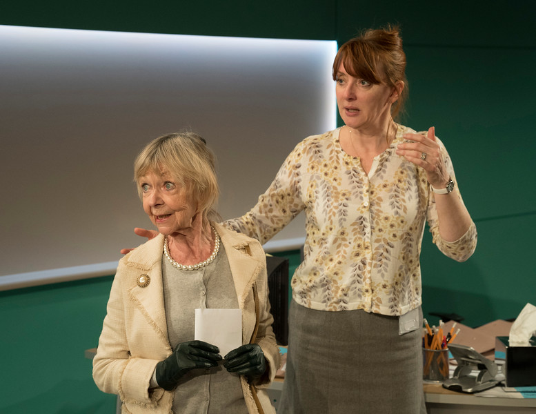 'Rasheeda Speaking' Play performed at the Trafalgar Studios, London, UK