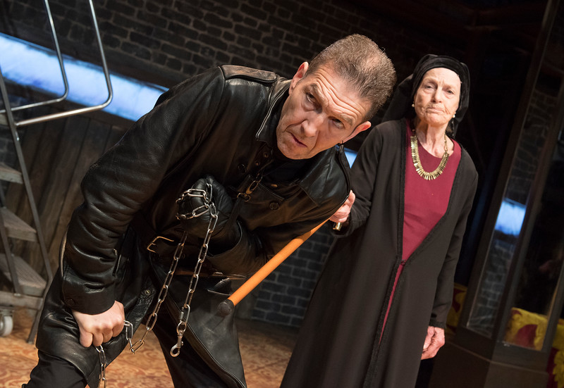'Richaard III' Play performed at the Arcola Theatre, LOndon, UK