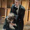 'Die! Die! Die! Old People Die!' Play performed by Ridiculusmus Company at the Battersea Arts Centre, London. UK
