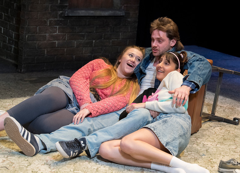 'Rita, Sue and Bob Too' Play by Andrea Dunbar performed at the Royal Court Theatre, London, UK