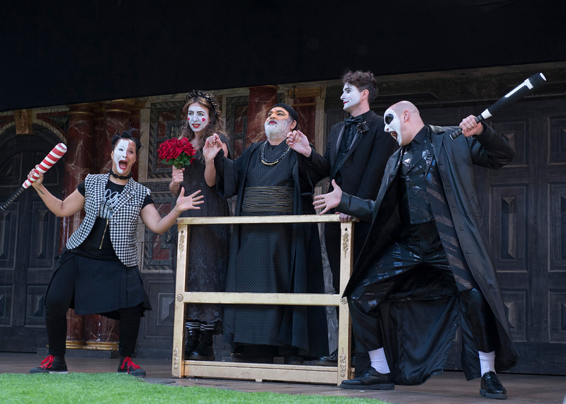 'Romeo and Julirt' Play performed at Shakespeare's Globe Theatre, London, UK
