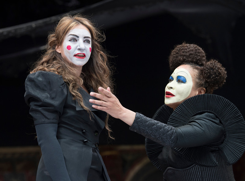 'Romeo and Julirt' Play performed at Shakespeare's Globe Theatre, London, UK