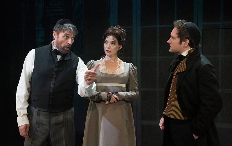 'Rothschild & Sons' PLay performed at The Park Theatre, London, UK